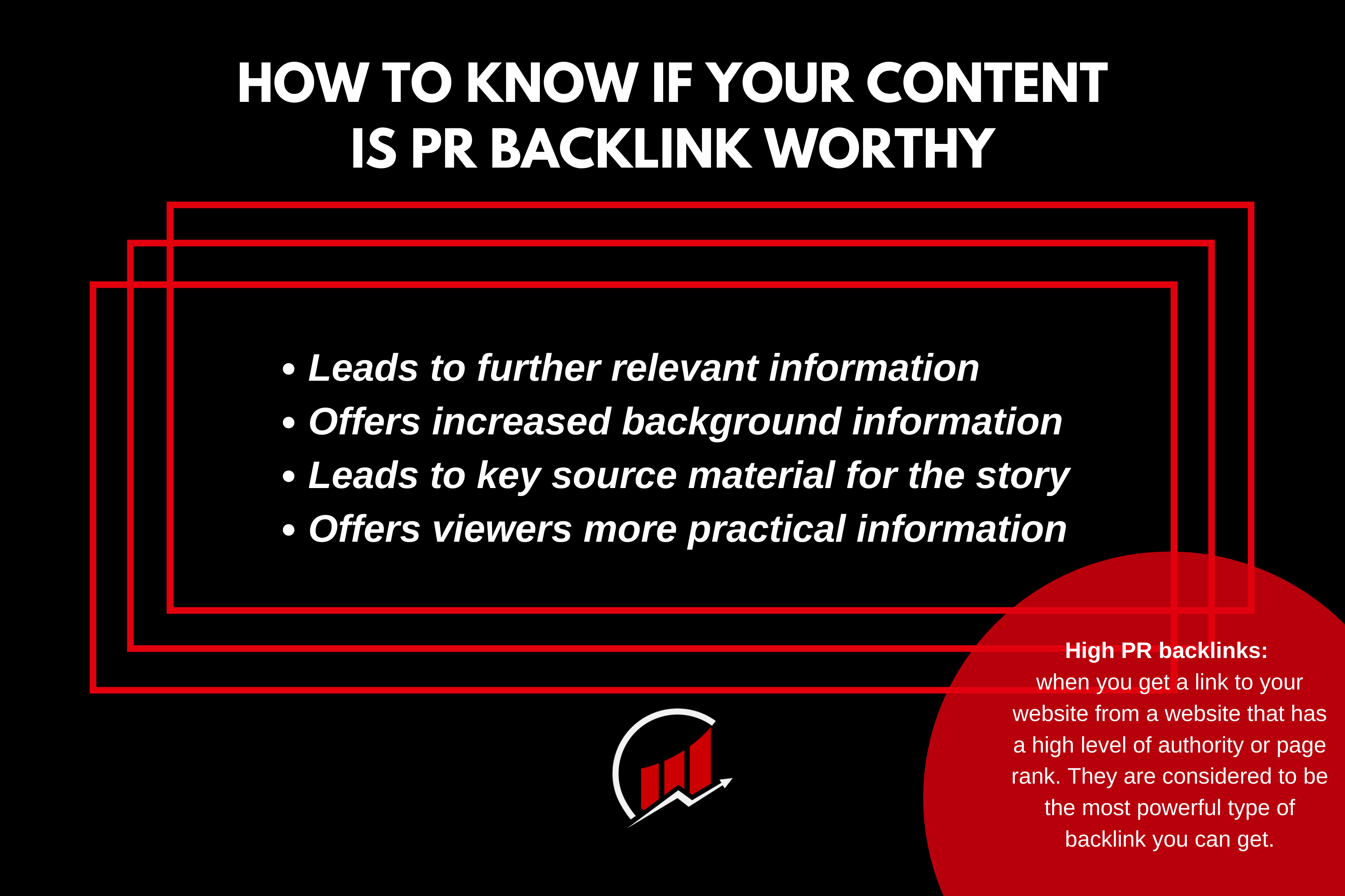 Is your content pr backlink worthy