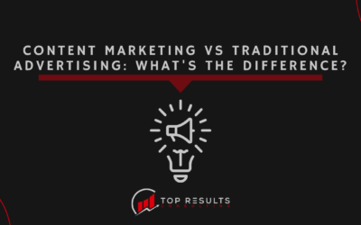 Content Marketing vs Traditional Advertising: What's the Difference?