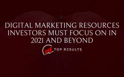Digital Marketing Resources Investors Must Focus On In 2021 And Beyond