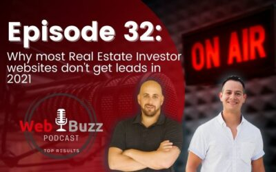 Why most Real Estate Investor websites don't get leads in 2021